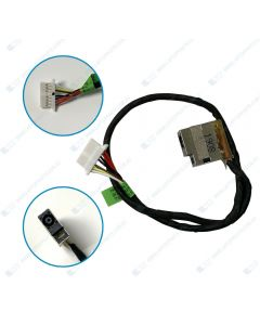 HP 15S-DU1031TX 8QW29PA DC-IN CONNECTOR L51995-001