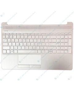 HP 15-DW 15S-DY 15S-DU Replacement Laptop Upper Case / Palmrest (SILVER) L52022-001