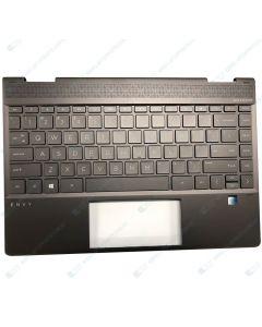 HP ENVY 13-ar0017AU 6XJ09PA TOP COVER W/ KEYVBOARD BL NFB US L53453-001