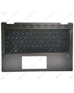 HP PAVILION X360 14-DH0049TU 6YU40PA TOP COVER NSV W/ Keyboard AHG US L53794-001