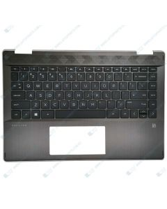 HP Pavilion 14-DH0000 7RP91PA Replacement Laptop NSV Upper Case / Palmrest with US Keyboard L53794-001