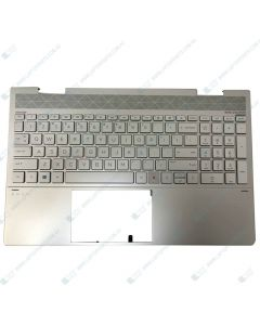 HP ENVY 15-ED0000 X360 3F613UAR Replacement Laptop NSV Upper Case / Palmrest and US Keyboard with Backlit L93227-001