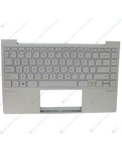 HP ENVY 13-BA0000 1A1K4UA Repalcement Laptop Upper Case / Palmrest with US Backlit Keyboard (NATURAL SILVER) L96801-001