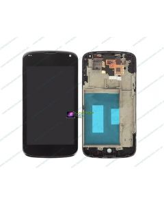LG Google Nexus 4 E960 Replacement LCD Touch Screen Digitizer Assembly with Frame