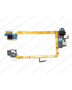 LG G2 D802 D805 Replacement Charging Port Flex Cable with Earphone Jack