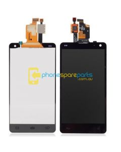 LG Optimus L5 E610 touch with frame Black (WITHOUT LCD)