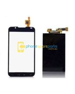 LG Optimus L7 II P713 P710 VWLS022 LCD and touch screen assembly with frame Black - AU Stock