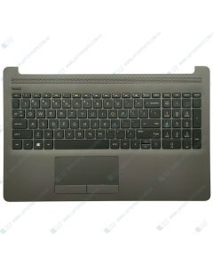 HP 250 G7  3N382PA TOP COVER W/ Keyboard DAS MSKT US M04975-001