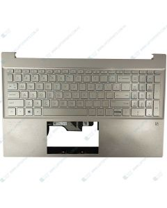 HP 15-EG0070TX 15-EG0050WM Replacement Laptop TOP COVER WARM GOLD WITH BACKLIT USKEYBOARD LUMINOUS GOLDM08922-001 M08924-001