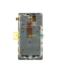 Nokia Lumia 1520 LCD and Touch Screen Assembly with Frame Black - AU Stock