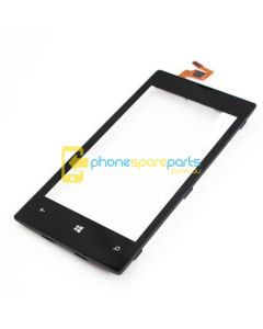 Nokia Lumia 520 touch screen with frame Black - AU Stock