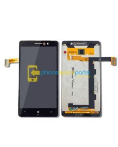 Nokia Lumia 830 LCD and Touch Screen Assembly with Frame Black - AU Stock