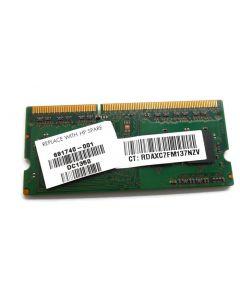 HP Pavilion 15-D006AU Laptop VGA 4GB 12800 1600Mhz DDR3L Memory 691740-001 USED