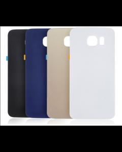 Samsung Galaxy S6 F920A G9200 G920 G920F Glass Housing Back Cover Black