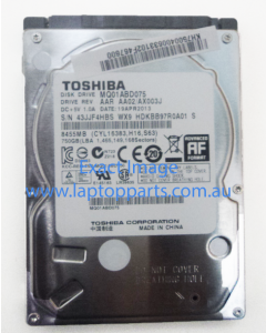 Acer Aspire V5 Series 572PG-53334G75 750GB Hard Drive SATA 8455MG/s With Recovery Image (drivers, OS) MQ01ABD075 CYL16383, 2PE4S00CTU- NEW