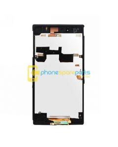 Sony Xperia Z1 L39h LCD Frame Black - AU Stock