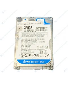 Western Digital WD3200BPVT 320GB 5400RPM SATA 2.5 HDD Hard Drive