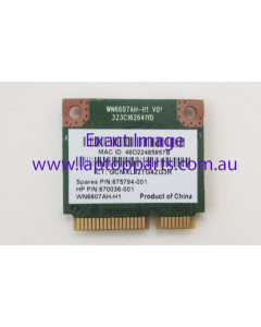 HP Touchsmart 15-J003TU 15-J023CL Laptop Replacement Intel Wireless Card 675794-001 670036-001 - NEW