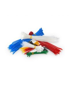 Assorted Colors Zip Ties (4 inch / 650)