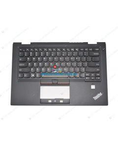 Lenovo Thinkpad X1 20FBA003AU Replacement Laptop Black Palmrest / Upper Case with US Black Keyboard 01AV154