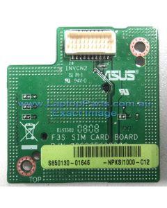 ASUS F3S M51S Replacement Laptop SIM Card Board 08G23FS3020C NPKSI1000-C12 USED