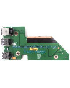 Dell Studio 1737 Power Board with 2 USB Ports 0NU327