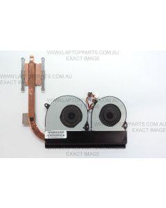 ASUS Eee SLATE EP121 B121 CPU Heatsink & Dual Cooling Fan Module KDB05105HB 13NA-Z2A0101 USED