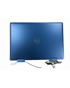 Dell Inspiron 14 5485 2-in-1 Replacement Laptop LCD Back Cover with LCD Cable, Hinges and Webcam AS NEW
