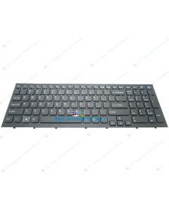 Sony VPCEA PCG-61212W PCG-61211W PCG-61211T PCG-61212T PCG-61311M PCG-61317L Replacement Laptop Black US Keyboard with Frame (Non-Backlit) 148792421 148792021