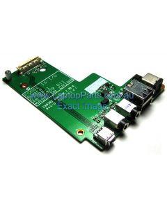 Dell Latitude E5500 Dual USB Audio DC Jack I/O Board F171C NEW