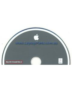 Apple PowerBook G4 Mac OS X Version 10.4 Install Discs 1 and 2 2Z691-5517-A 2Z691-5499-A