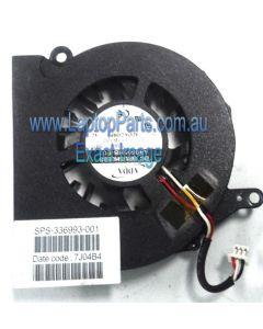 HP PAVILION ZT3300 Thermal fan assembly - 336993-001