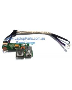 HP Pavilion DV6000 USB port and Power Connector / DC Jack Board- (90W) 446524-001