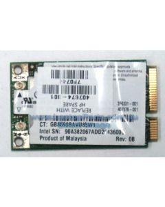 HP Pavilion DV9000 Replacement Laptop Wireless LAN (WLAN) card 407674-001