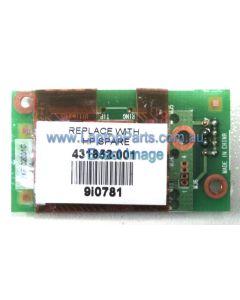 HP Pavilion DV2000 Replacement Laptop Modem board 56Kbks 431852-001
