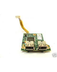 HP COMPAQ 6715B  5-in-1 media card reader / USB connector board - 443883-001