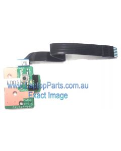 HP PAVILION DV7-2022TX (VA652PA) Laptop Input power button board and cable 516329-001