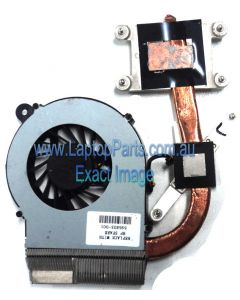 HP CQ62 G62 Replacement Laptop FAN and HEATSINK ASSEMBLY 595832-001