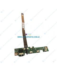 Lenovo MIIX 510-12ISK USED 80U1004FAU POWER / AUDIO BOARD W/cable 5C50M13915