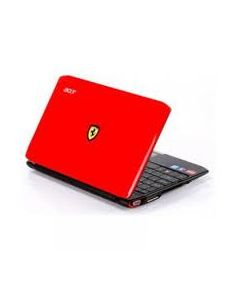 Acer F0200-314G50N ( FERRARI ONE 200 SERIES) Replacement Laptop LCD Back Cover - RED- 60.FRC07.005