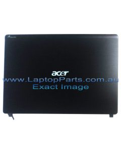 Acer Aspire 4625 4625G LCD COVER ASSY AL W/MIC CCD CABLEANTENNA*2 HINGE CAP 60.PSN07.003