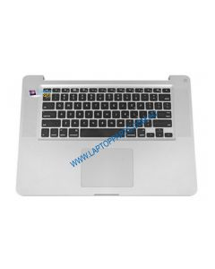 "Apple MacBook Pro 15"" Mid 2012 A1286 Replacement Laptop Top Case Assembly with Trackpad and Keyboard 661-6509"