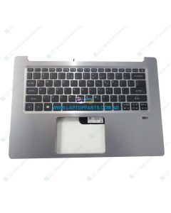 Acer Swift SF314-52G Replacement Laptop Upper Case / Palmrest with Keyboard 6B.GQMN5.001