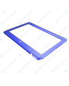 HP 11-R014WM 11-R091NR Replacement Laptop LCD Bezel / Frame (BLUE) 830771-001