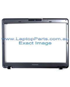Toshiba Satellite U400 (PSU44A-00J00C)  LCD BEZEL ASY WCCD1.3M MS SP SG A000020480