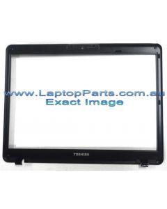 Toshiba Portege M800 (PPM81A-06601J)  LCD BEZEL ASSY WCCD RED SP SG A000023420