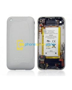 Apple iPhone 3S / 3GS Back Housing Assembly With Vibrator (White)