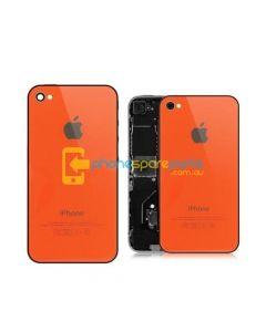 Apple iPhone 4S back cover Orange - AU Stock