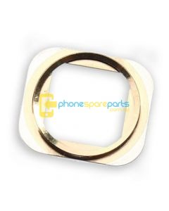 Apple iPhone 5S Home Button Ring Gold - AU Stock