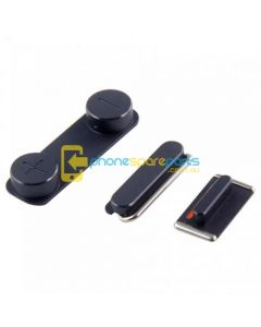 Apple iPhone 5S power volume mute buttons Black - AU Stock